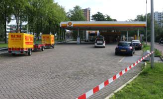 21 september Overval op Shell verdachte gevlucht Westlandseweg Delft [VIDEO]
