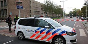 23 oktober Hoofdbureau Politie afgesloten na vondst verdacht pakketje Burgemeester Patijnlaan Den Haag