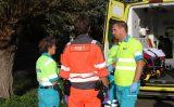 9 oktober Man valt door dak boerderij in aanhanger tractor Oostveenseweg Schipluiden