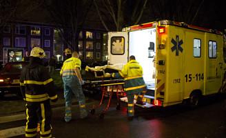 18 maart Gewonde bij ongeval Aagje Dekenlaan Den Haag