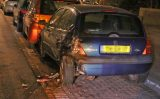 13 januari Automobilist vliegt uit de bocht en ramt geparkeerde auto Slachthuislaan Den Haag