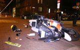 14 november Motoragent lichtgewond bij aanrijding met auto Beresteinlaan Den Haag
