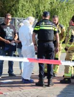 21 juli Stoffelijk overschot aangetroffen in sloot Herenwerf Maasland
