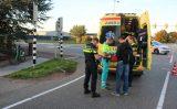 29 september Fietser hard ten val met gezicht op schrikblok N466 Middel Broekweg Honselersdijk