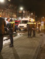 15 januari Gewonde bij flinke aanrijding tussen scooter en auto Hoefkade Den Haag