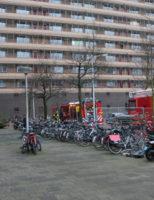 28 december Flinke rookontwikkeling bij flat Arthur van Schendelplein Delft