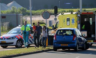 13 juni Auto total-loss na aanrijding Henricuskade Den Haag