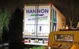30/31 oktober Verdwaalde vrachtwagenchauffeur bijna te water na verkeerde manoeuvre Herenlaan Maasland