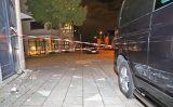 13 september Gevel woningcomplex ontzet na crash auto Parkzoom Delft
