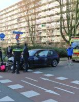 16 maart Gewonde bij aanrijding Voorhofdreef Delft