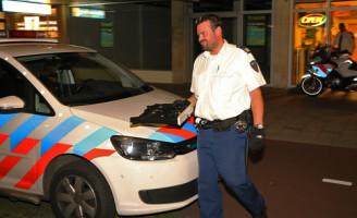16 augustus Twee gemaskerde mannen overvallen de Subway Papsouwselaan Delft [Video]