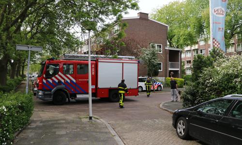 17 mei Kleine brand in flatwoning Van Almondestraat Delft ... Almondestraat Delft