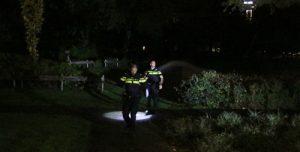 13 november Stapel kranten in brand gestoken bij boom Van Lodensteijnstraat Voorburg