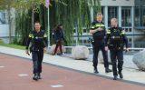 31 oktober Flinke politiemacht na melding over man met vuurwapen TUDelft Mekelweg Delft