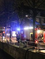 20 maart 'Zeer grote brand' in bistro Hippolytusbuurt Delft