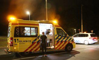 7 augustus Gewonde bij aanrijding op de Kruithuisweg N470 Delft [VIDEO]