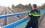 18 oktober Grote rookwolken bij brand in trailer van vrachtwagen A4 Schipluiden [VIDEO]
