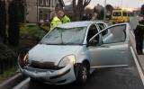 6 februari Gewonde en aanhouding na auto te water Voorstraat Poeldijk
