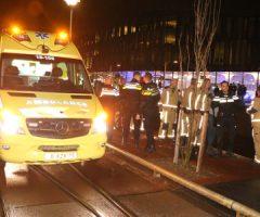 20 januari Omstanders redden vrouw uit het water Westvest Delft