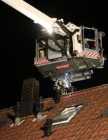 3 november Brandweer rukt uit voor brand in schoorsteen Kapelweg Honselersdijk [VIDEO]