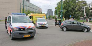 18 augustus Driewielige motor aangereden door auto Volmerlaan Rijswijk