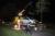 9 mei Gewonde na uitwijken voor overstekende herten Veurseweg Voorschoten