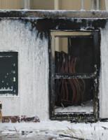 5 juni Flinke vlammenzee bij brand in stroomverdeelstation Vlietweg Naaldwijk