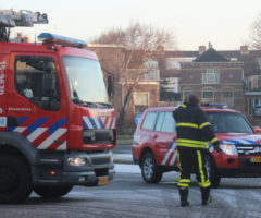 21 januari Gaslekkage door paaltje in de grond slaan Stationsweg Monster