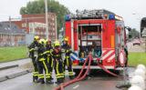 22 augustus Brandweer heeft handen vol aan flink gaslek Klapwijkseweg Pijnacker