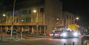 14 september Auto total-los na éénzijdig ongeval Alberdingk Thijmplein Den Haag