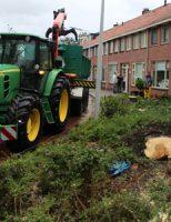 14 september Windhoos zorgt voor flinke schade in 's-Gravenzande