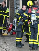 17 juni Wasdroger vat vlam in woning Markt Delft