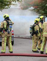 6 september Grote brand in pand TU Delft Anthony Fokkerweg Delft