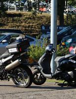 3 september Aanrijding auto versus scooter Delft