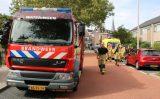 16 september Twee personen naar het ziekenhuis na brand in achtertuin Guldeland Wateringen