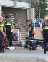 31 juli Massale inzet hulpdiensten na melding persoon te water Zevenhuizerplas Rotterdam