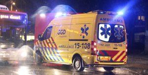 24 augustus Man springt uit raam door brand Erasmusweg Den Haag