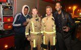 23 november Brandweer inzet na bezoek aan McDonald's Melis Stokelaan Den Haag