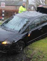 12 januari Auto raakt van de weg en beland in de sloot Middelweg Moordrecht