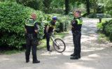 24 juni Politie start zoekactie op na vondst kinderspullen Westplantsoen Delft