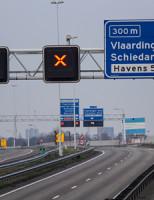 29 januari Beneluxtunnel dicht na stroomstoring Schiedam