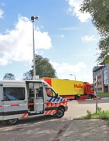 24 september Fietser geschept door vrachtwagen op Vrijheidslaan Delft