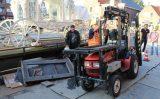 23 september Tractor valt om op bouwplaats Wilheminaplein Naaldwijk