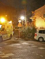 13 januari Scooterrijder onder invloed belandt in sloot Buitenwatersloot Delft
