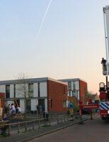 19 april Vogeltje vast in muur, brandweer schiet te hulp aan de Kopkas in Delft