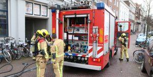 2 april Kleine brand in studentenhuis Oude Delft in Delft