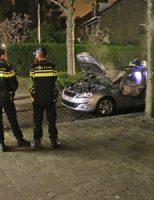 20 april Voertuig zonder kentekenplaten gaat volledig in vlammen op Van Kinschotstraat Delft