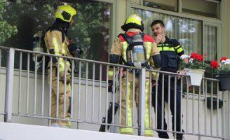 2 juli Klein brandje in woning Pijperring Delft