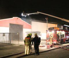 24 april Flinke rookontwikkeling door brand loods De Hondert Margen De Lier
