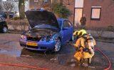 12 december Geparkeerde auto in brand, brandweer voorkomt erger Aletta Jacobsstraat Delft
